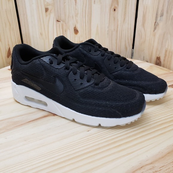 Men's Nike 'Breathe' Air Max 90 Ultra Sport Shoes Black